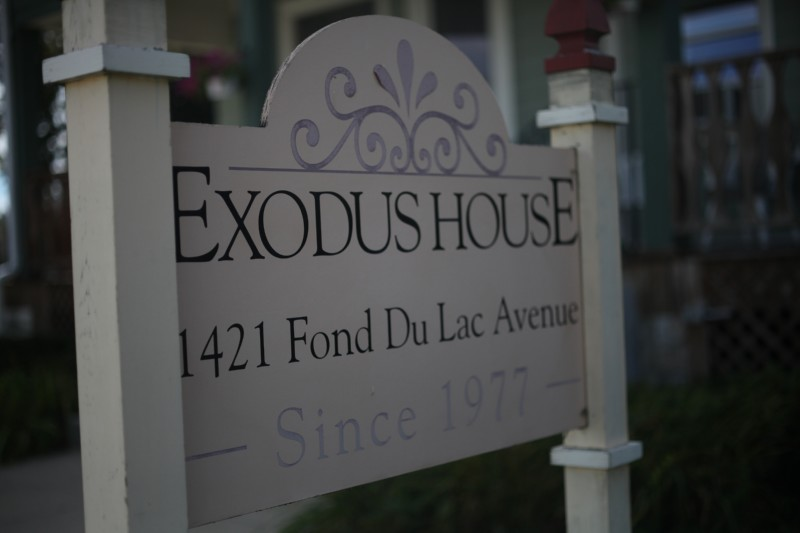 Exodus House Street Sign