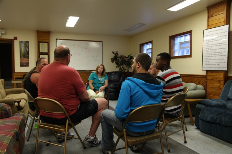 Group Therapy at Exodus House