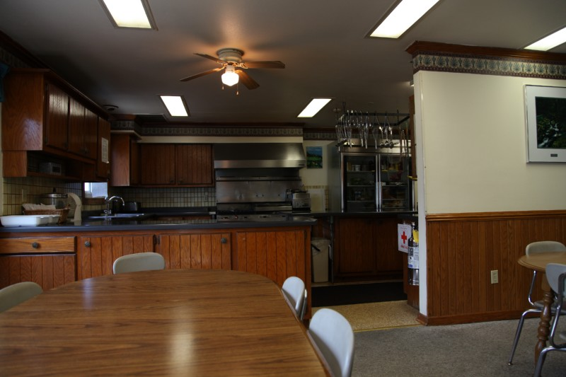 Kitchen and dining room facilities