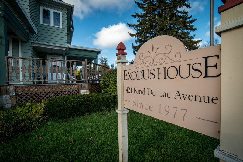 Sign for Exodus House